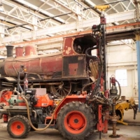 Environmental Drilling - Midland Rail Workshops