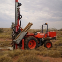 DR04 - Tractor mounted drill rig