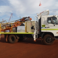 DR06 - 4x4 Truck mounted drill rig
